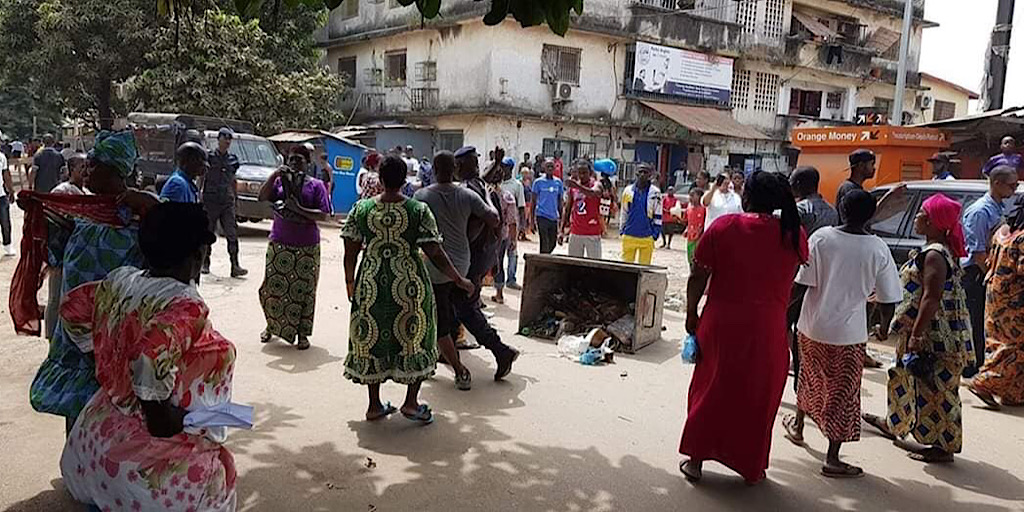 Manifestations du FNDC: la situation à 13h selon la police…