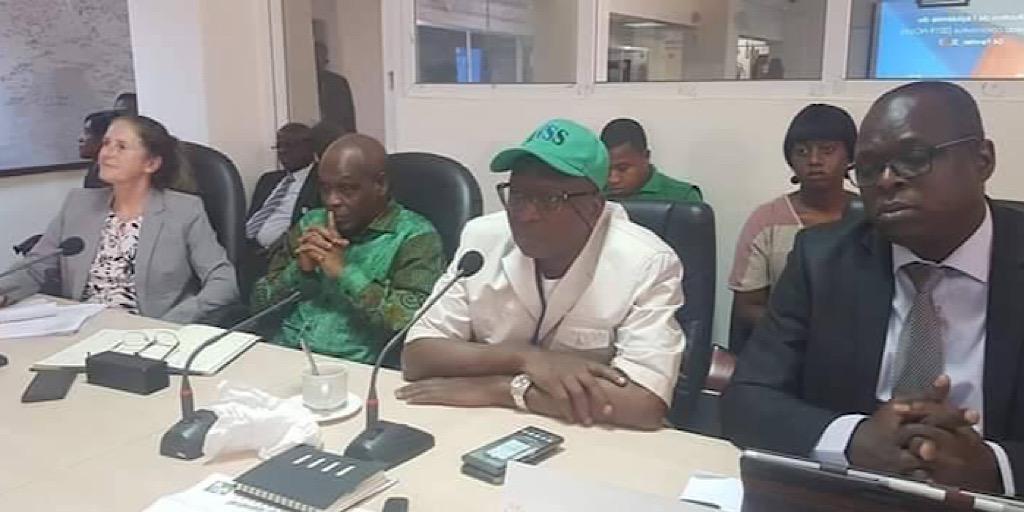 Dr Sakoba Keita, DG de l'ANSS vient de confirmer le «cas suspect de Coronavirus» détecté ce lundi à l'entrée de l'aéroport