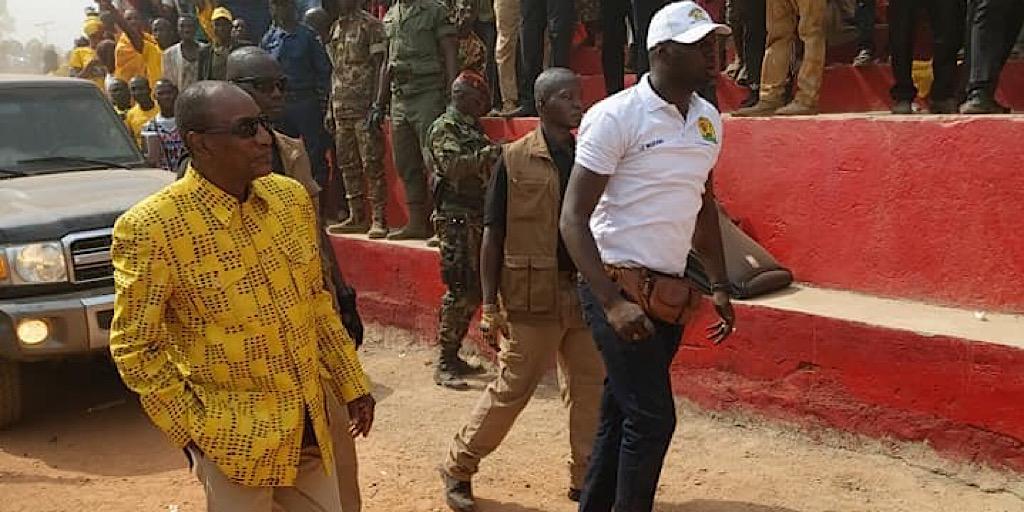 « Je n'ai peur de personne en Guinée comme à l'extérieur » dixit Pr Alpha Condé à Kissidougou
