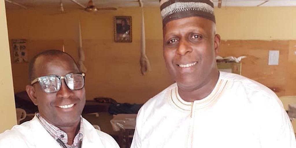 Kankan : Aboubacar Titi au secours du Centre de Santé du quartier Briqueterie avex 90 millions de Francs Guinéens.